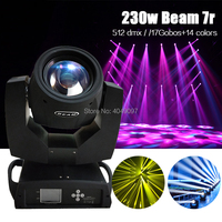 230w sharpy 7r beam moving head light promotion double 24 prism moving head light beam stage lighting effect for DJ/party/stage