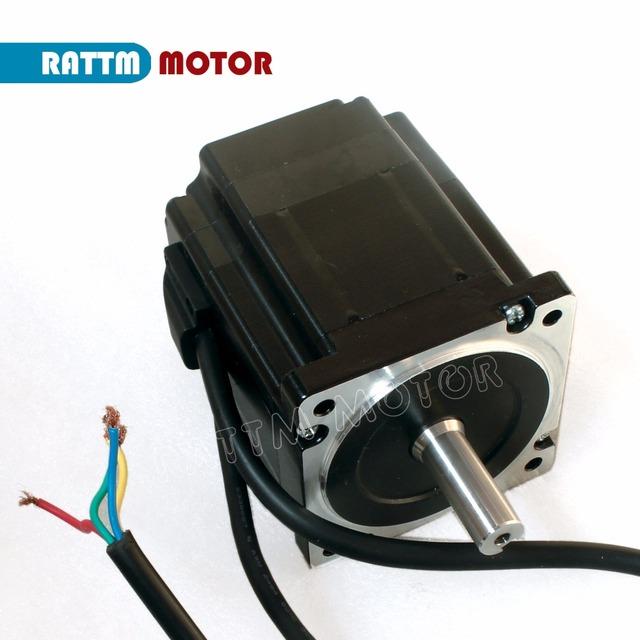 EU free 2 Sets Nema34 4.5N.m Closed Loop Servo motor Motor Kits 82mm 6A & HSS86 Hybrid Step-servo Driver 8A CNC Controller Kit