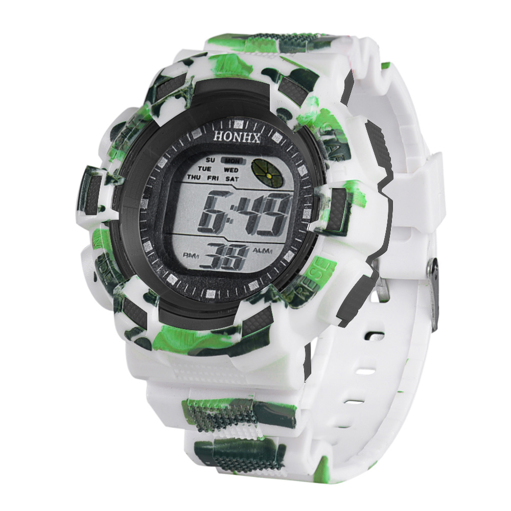 HONHX 2016 New Brand Fashion Mens Digital LED Analog ...