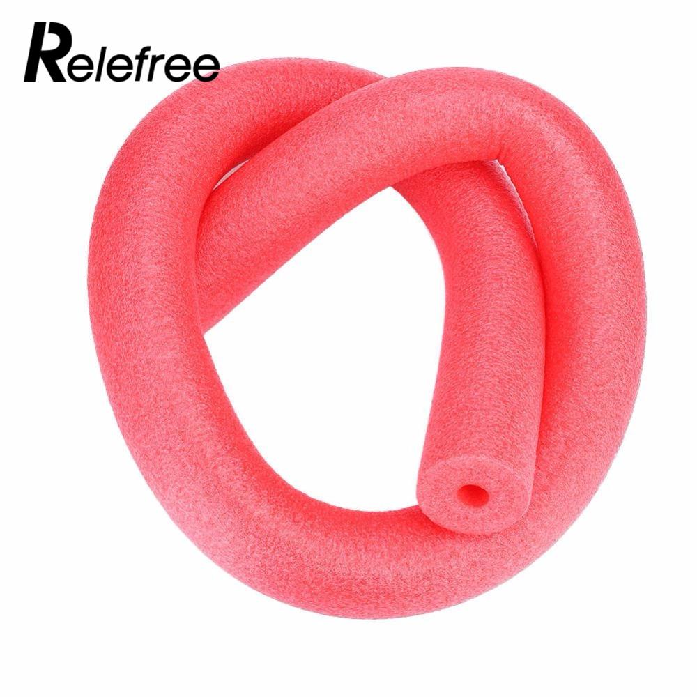 New 1Pcs Swimming Pool Flexible Seat Noodle Tube Water Floating Noodle Tube Kid Adult Aid Tools