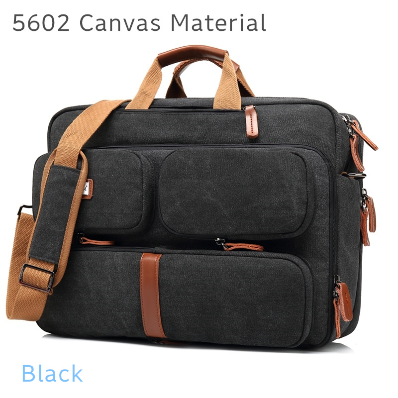 """Image 2 - 2019 Coolbell Brand Messenger Backpack For Laptop 15.6"""",17"""",17.1"""",17.3"""" Notebook Bag, Packsack, Free Drop Shipping 5601-in Laptop Bags & Cases from Computer & Office"""