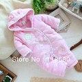 Envío libre al por menor nuevo 2014 otoño invierno del bebé del algodón del mameluco del bebé del mono guardapolvos del bebé niños de las enredaderas