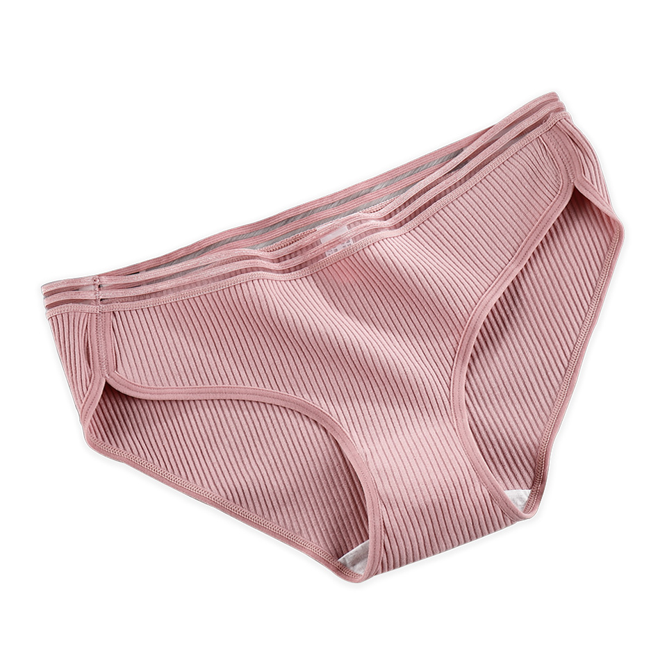 M-4XL Pantie For Women Underwear Seamless Briefs Cotton Sexy   Panties   Striped Style Big Size Female Underwear lingerie 2019 New