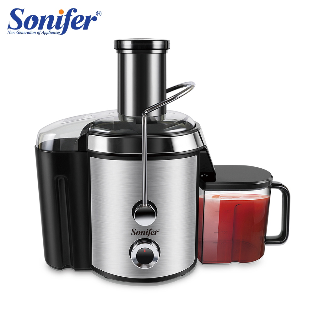 800W Large Size Stainless Steel Juicers Fruit And Vegetable Juice Extractor Removable Fruit Drinking Machine For Home Sonifer