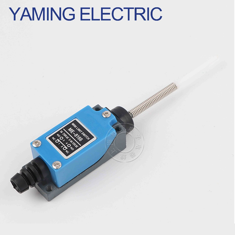 P239 1PC Momentary 1NO 1NC Waterproof wheel power Micro Position Long pole Mini Universal Limit Enclosed Switch ME 8166