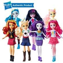 Hasbro My Little Pony мой маленький пони 11-дюймовый всех цветов радуги; платье Флаттершай Сумерки; классического фасона; коллекционная кукла подарок ПВХ фигурки