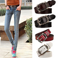 Fashion Wide Genuine Leather Belt Women Vintage Floral Carved Cow Skin Belts New Design Strap Female for Jeans