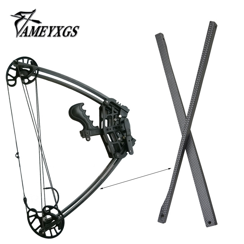 45Lbs Archery Compound Bow Triangle Bow Limbs Fit For Triangle Bow Replaceable Detachable Shooting Hunting Accessories