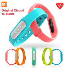 Original xiaomi mi banda 1 s pulsera heart rate monitor de rastreador de fitness inteligente miband pulsera para android ios envío gratis