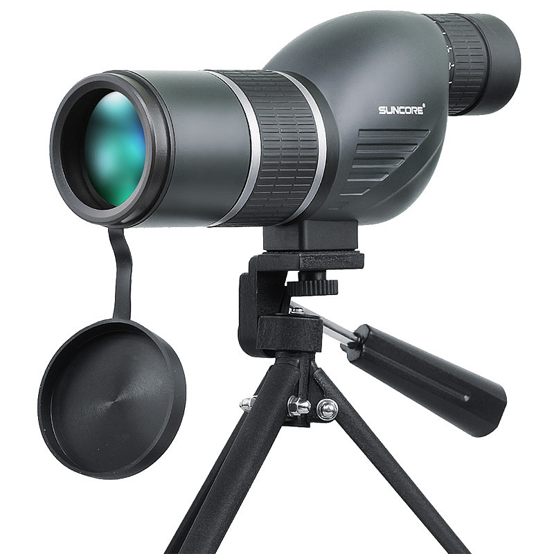 High Quality 12-36x50S HD Monocular Blue Coating Spotting Splash-proof Scope Telescope with Tripod for Bird Watching Concert hot selling 15 40x50 zoom hd monocular bird watching telescope binoculars with portable tripod spotting scope blue coating