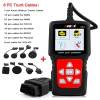 Best Car Heavy Duty Scanner Diagnostic Tool Truck Car 2in1 Obdii And Diagnostic Cable Diesel Mechanic