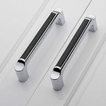6pcs Zinc Alloy Continental Hardwares Kitchen Bath Door Drawer Cabinet Handle Pull Handles Knob