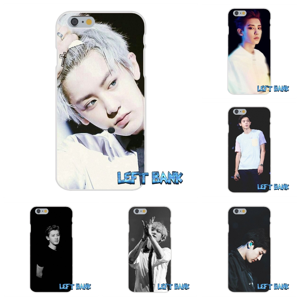 Park Chanyeol <font><b>EXO</b></font> Star Soft Silicone TPU Transparent Cover <font><b>Case</b></font> For Samsung Galaxy Note 3 4 5 S4 S5 MINI S6 S7 edge