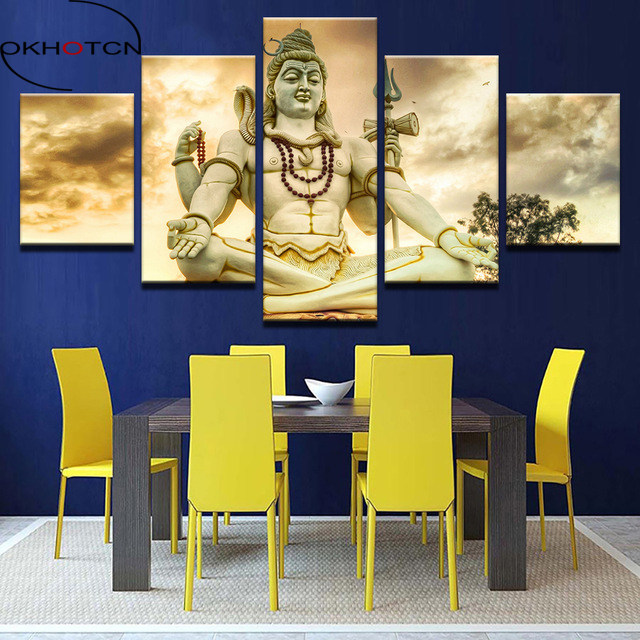 Online Shop OKHOTCN HD Prints Picture Home Decor Modular Canvas Wall ...
