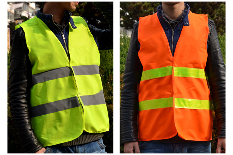 Safety Clothing 100% high visibility reflective safety vest free shipping camp safety safety liberty
