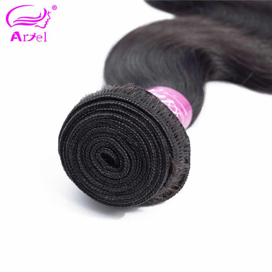 Объемные волнистые пучки малазийские 28 32 30 дюймов пучки волос 100% человеческие волосы переплетения пучки натуральный цвет не Реми волосы для наращивания Ариэль