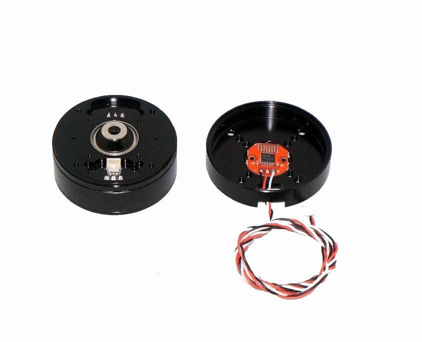 Plataforma de Nuvem Brushless com Disco de Código Ser ao Longo do Anel de Deslizamento Motor Codificador Micro Único Furo Central Pode Pm4108 –