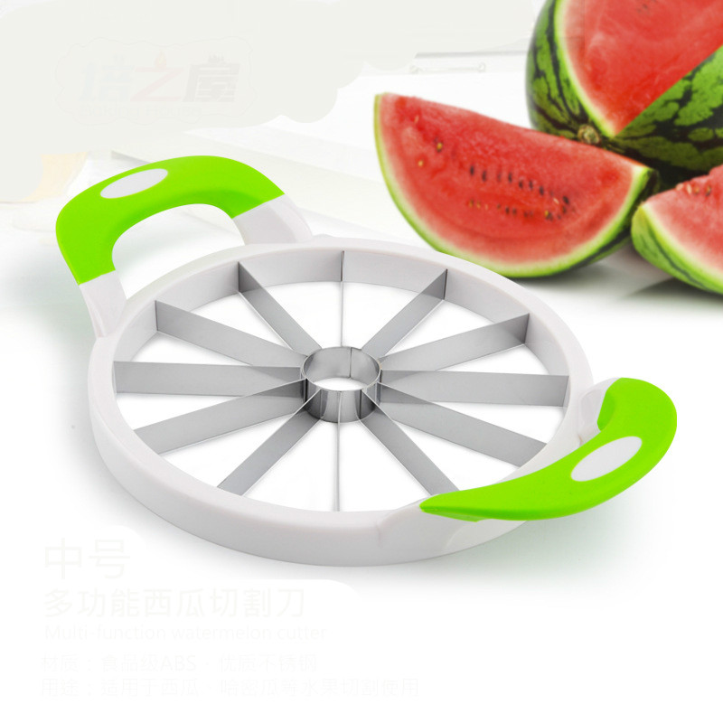 Large size Stainless Watermelon Cutter Kitchen Cutting Tools Watermelon Slicer Fruit Watermelon Divider Tool Kitchen gadgets