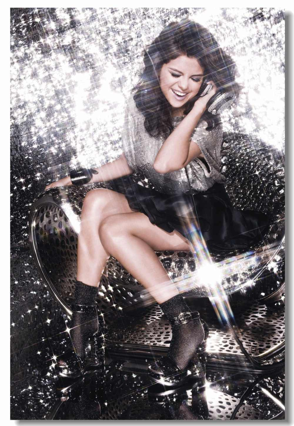 Selena Gomez Inspirational Motivational Wall Decal Quote Art Home Room Decor