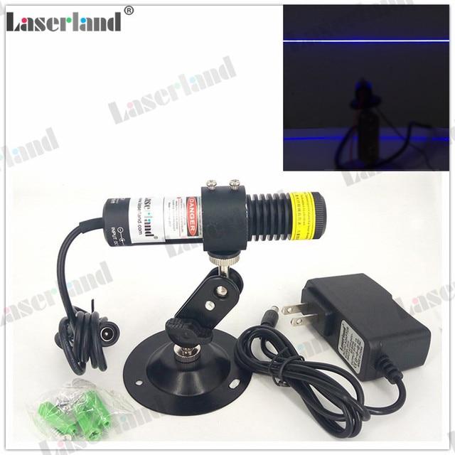 450nm 80mW True Blue Line Laser Module Line Generator for Laser