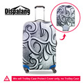 Dispalang Metal Pattern Luggage Protective Cover Elastic Stretch Waterproof Suitcase Cover For 18-30Inch Case Travel Accessories