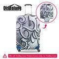 Dispalang padrão capa protetora bagagem elastic estiramento mala à prova d' água de metal capa para 18-30 polegada caso acessórios de viagem