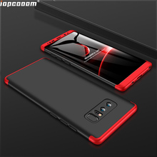 360 Full Protection Case For Samsung Galaxy Note8 Luxury Hard Shockproof Back Cover cases