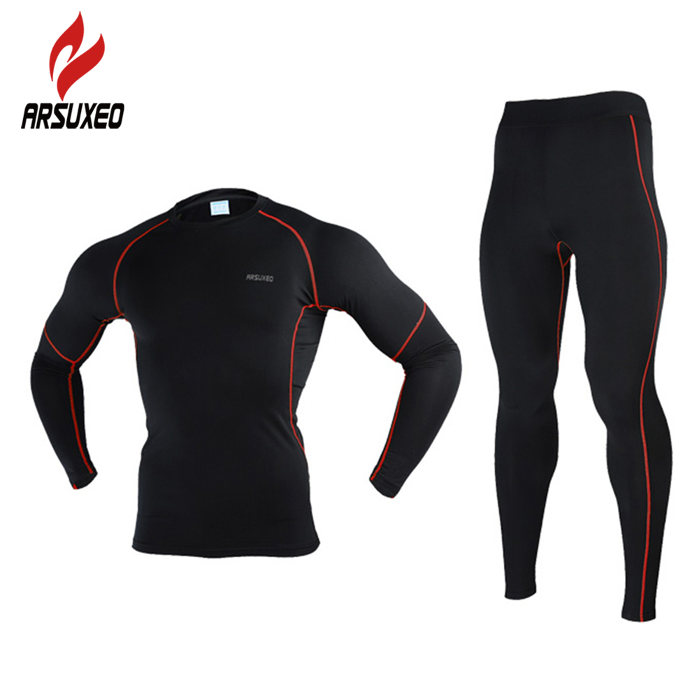 2017 New Arsuxeo Men Winter Thermal Thermal Warm Up