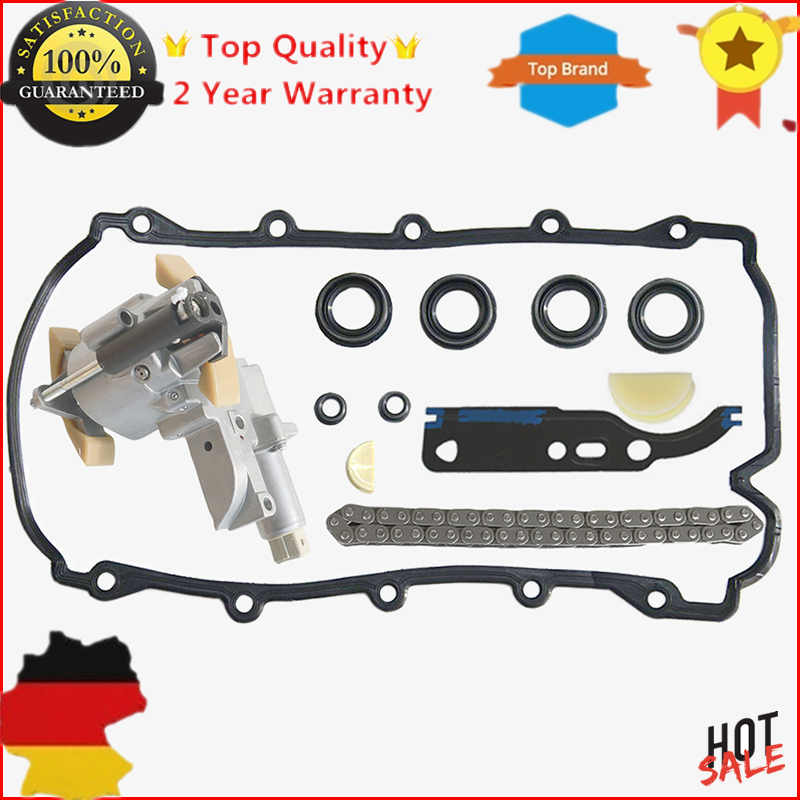 AP01 077109087P 077109087C 077109087E For AUDI A6 A8 VW Touareg Phaeton 4.2 V8 Timing Chain Tensioner GASKETS Kit  -- Left Side