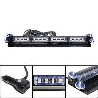 16LEDs High Power Led Car Strobe Light Auto Warn Light Police Emergency Lights 16W Car Front Light Lamp