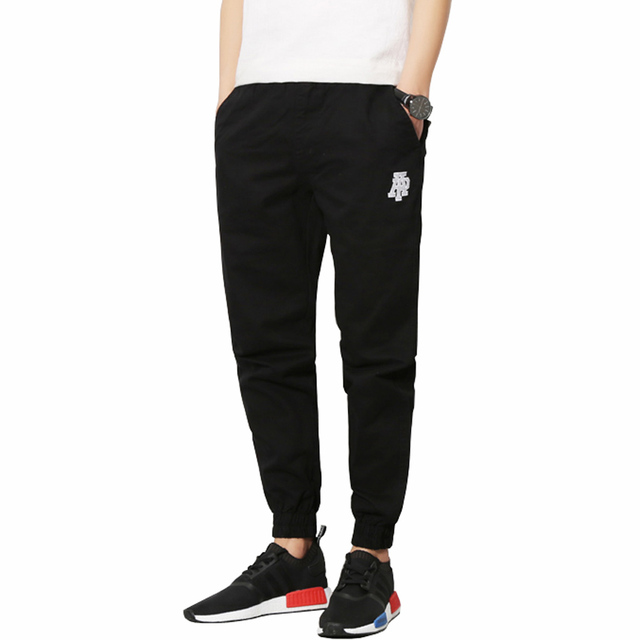 2016 Nuevos Hombres de La Manera pantalones Impreso Largos pantalones Casuales Hombres Slim Fit Otoño y Primavera de Los Hombres Del Ocio Cómodo Basculador más el Tamaño 5XL