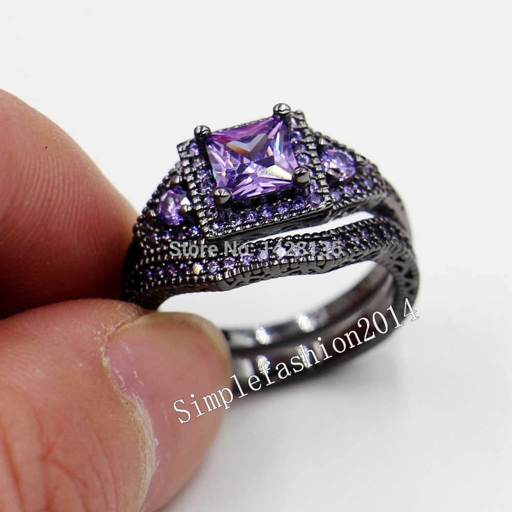 birthstone wedding rings Round Gemstone with Paved CZ Birthstone Wedding Ring Wholesale China