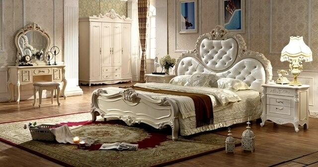 € 1132.75 |Antique style français mobilier élégant de chambre à coucher py  6015 dans Lits de Meubles sur AliExpress.com | Alibaba Group