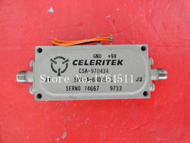 [BELLA] CELERITEK CSA-970434 9V SMA Amplifier