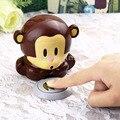 Nueva Lindo Del Mono secador de uñas Uñas de Arte Polaco Secador del Ventilador Manicura nail art equipos/herramientas