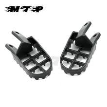 Foot-Pegs XR650L Motorcycle-Dirt-Bikes XR350R XR250 XR600R XR400 Honda Cr80 Steel