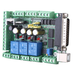 Image 5 - 4 axls 6 axls CNC Breakout Board CNC Engraving Machine Breakout Board For Stepping Motor Driver MACH3V2.1 L Interface Adapter