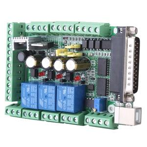 Image 5 - 4 axls 6 axls Cnc Breakout Board Cnc Graveermachine Breakout Board Voor Stappenmotor Driver MACH3V2.1 L Interface Adapter