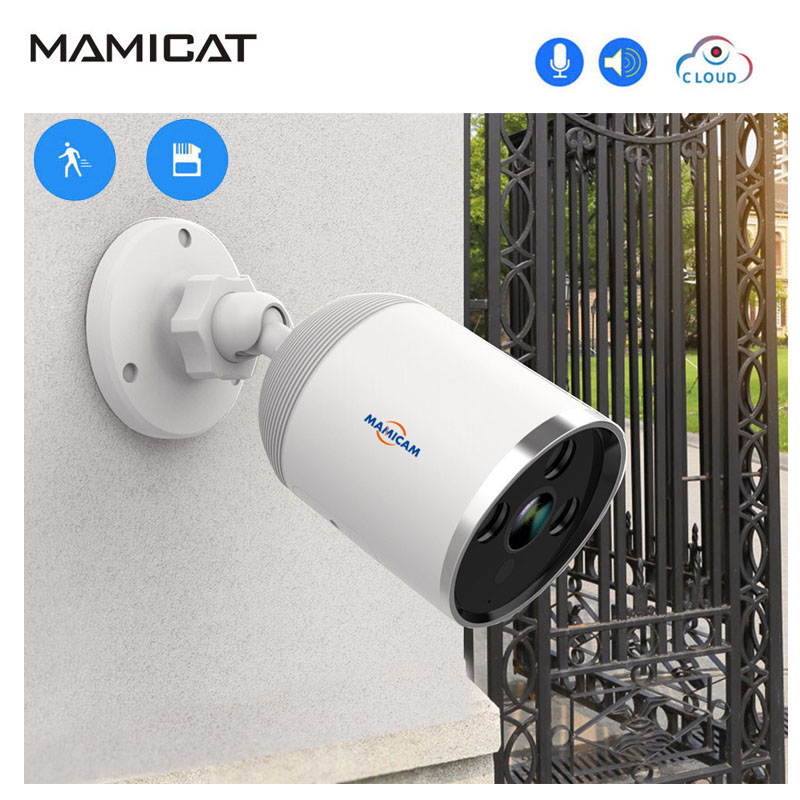 3MP Outdoor Wireless Wifi Bullet Camera CCTV Home Security IP Camera Audio Record Surveillance Cloud Cam IR Night Vision3MP Outdoor Wireless Wifi Bullet Camera CCTV Home Security IP Camera Audio Record Surveillance Cloud Cam IR Night Vision
