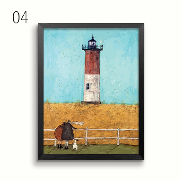 HTB15qJecPfguuRjy1zeq6z0KFXaY Gohipang Happy Family Abstract Love Canvas Painting Vintage Posters Prints Scandinavian Nordic Wall Art Picture For Bedroom Home