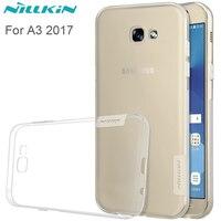 Nillkin Ultra Thin Transparent Clear Soft Silicon TPU Case For Samsung Galaxy A3 2017 A320F 4