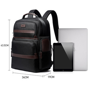 Image 5 - BOPAI אנטי גנב USB טעינת 15.6 אינץ מחשב נייד תרמיל לנשים גברים מגניב נסיעות תרמיל עם מים בקבוק כיס זכר המוצ ילה