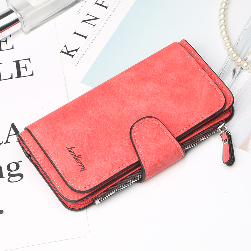 Fashion Women Long Wallets PU Leather Purse Card Holder Female Zipper Wallet Top Quality Brand Women Purse Cell Phone Pocket Bag стоимость