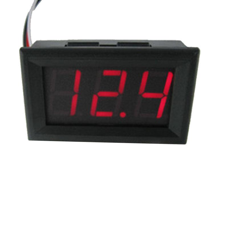 0.56 inch DC4.5V-30V Voltmeter Red LED Display Digital Volt Meter Meter