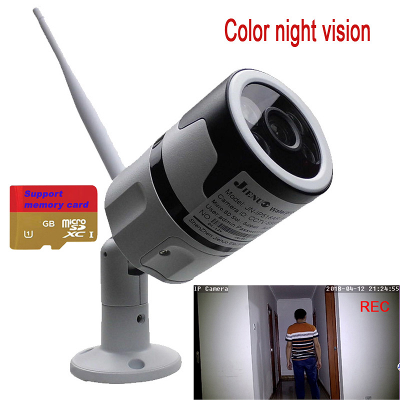 Color Night Vision Bullet Ip Cameras WI FI 720P 960P 1080P Home Security Video Surveillance Outdoor