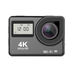 "Image 5 - 4K פעולה מצלמה WIFI 2.0 ""מסך מלא HD מיני קסדת Waterproof ספורט DV מצלמה שלט רחוק"