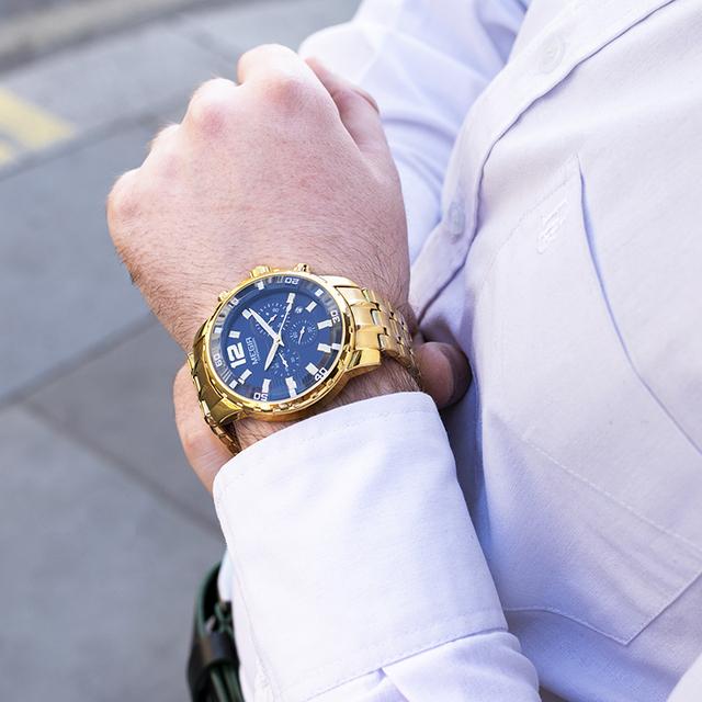 Chronograph Quartz Mens Watch