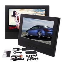 8 Inch HD Dual Car Headrest DVD PlayersTouch Button Rear Seat DVD Players Support 32 Bit