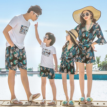 beachwear family matching clothes mother daughter dresses mommy and me outfits look mom mum daughter dress dad son clothing sets dear mum and dad