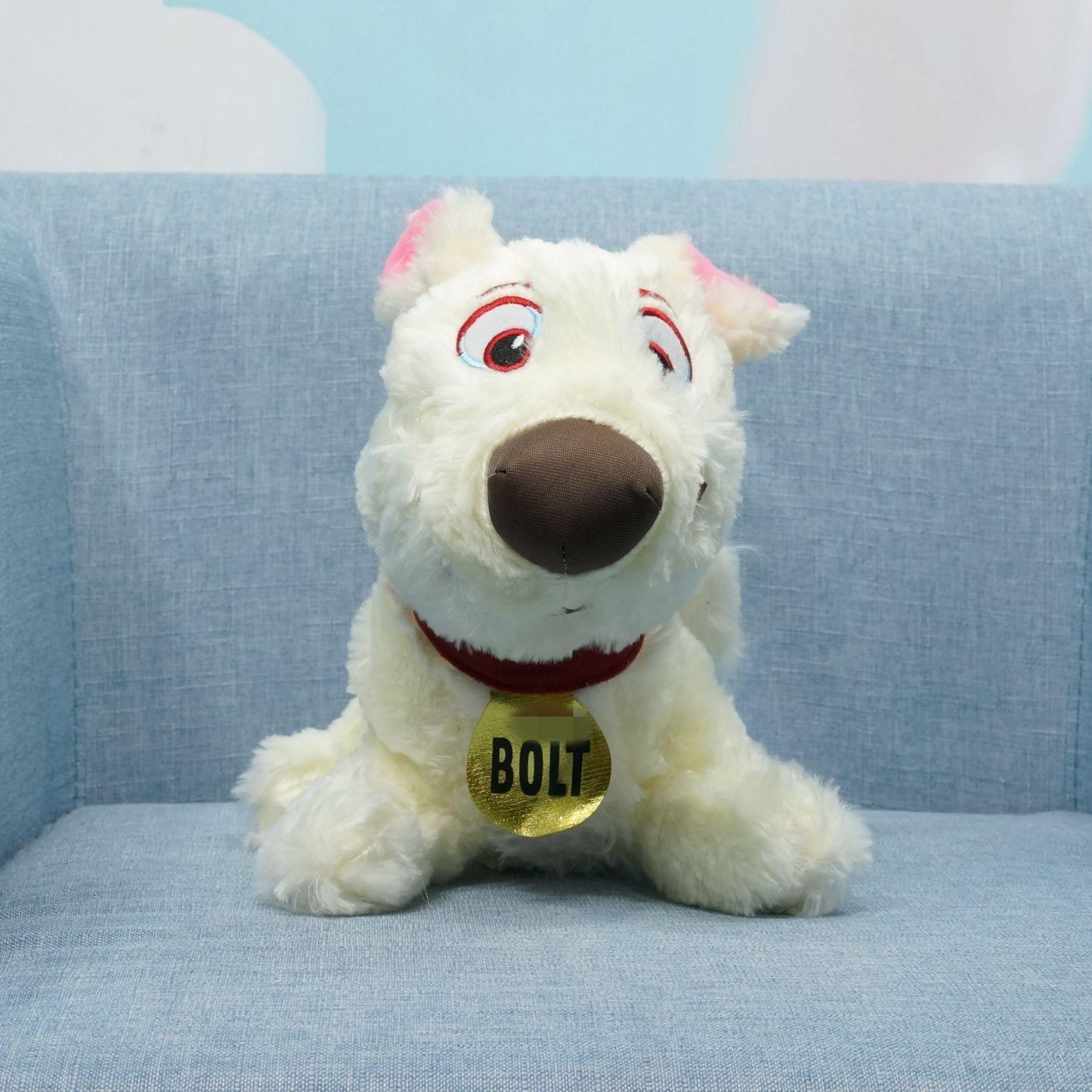 New Arrival Soft Anime Bolt Dog Animal Plush Toy Children Baby Boy